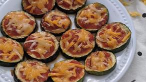 Zuchinni Pizza Bites