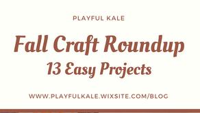 Fall Craft Roundup