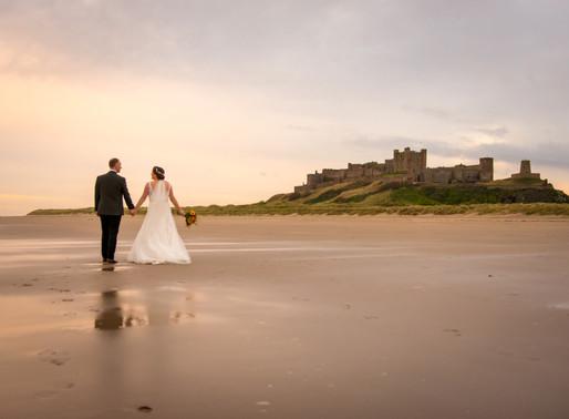 Judith and Richard's Autumn Bamburgh Castle Wedding