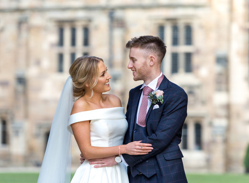 Our Durham Castle Wedding with Jennifer and Mark