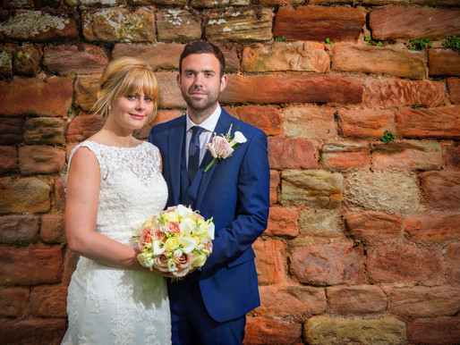 Danielle and Andrew's Ellingham Hall Wedding