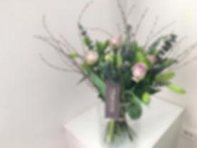 Boeketje met bloemen van de dag
