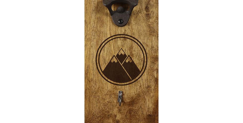 Reclaimed Mountain Bottle Opener