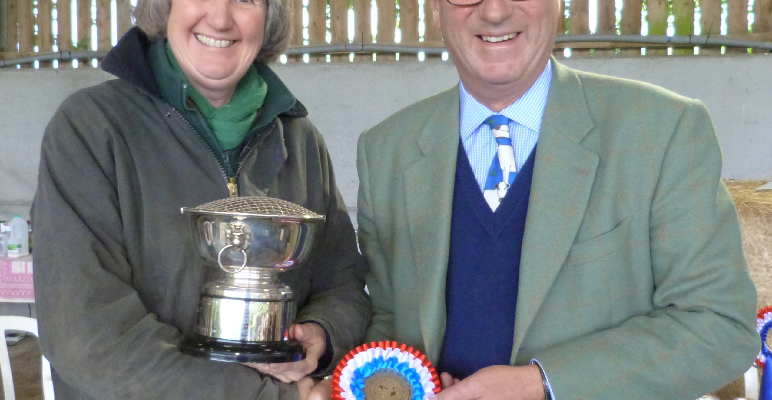 Bull of the Year is won by Dr Vivien St Joseph with Tollesbury Sir Lionel