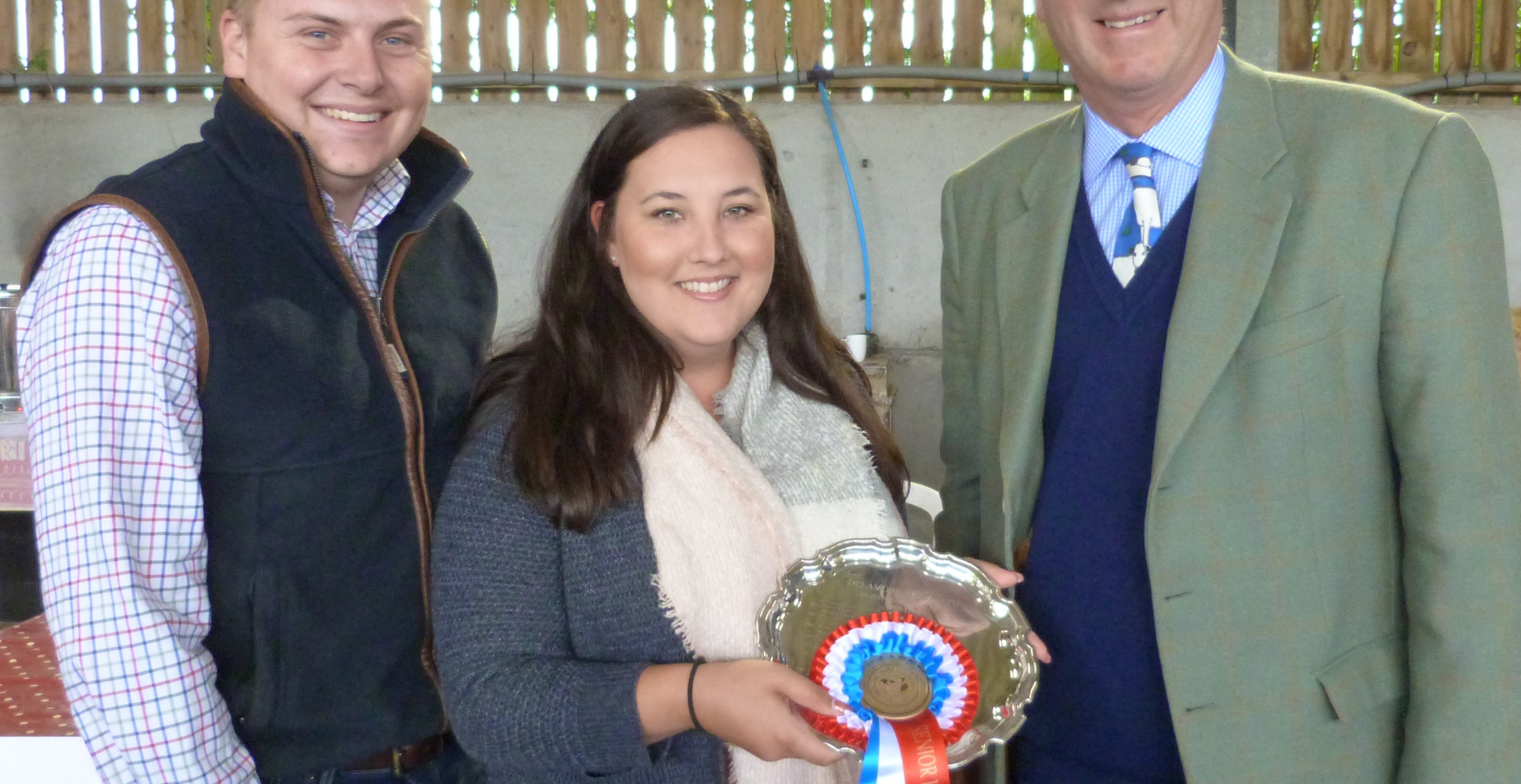 James Brain and Lottie Thomas also pick up Senior Heifer of the Year with Tollesbury Hopscotch