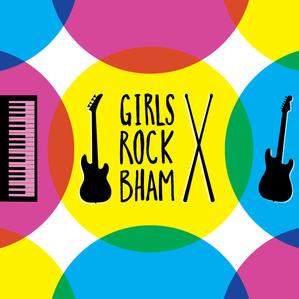 Girls Rock Bham Logo Design