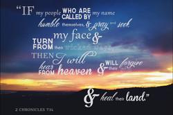 2 Chronicles 7:14 | Rhea Creative