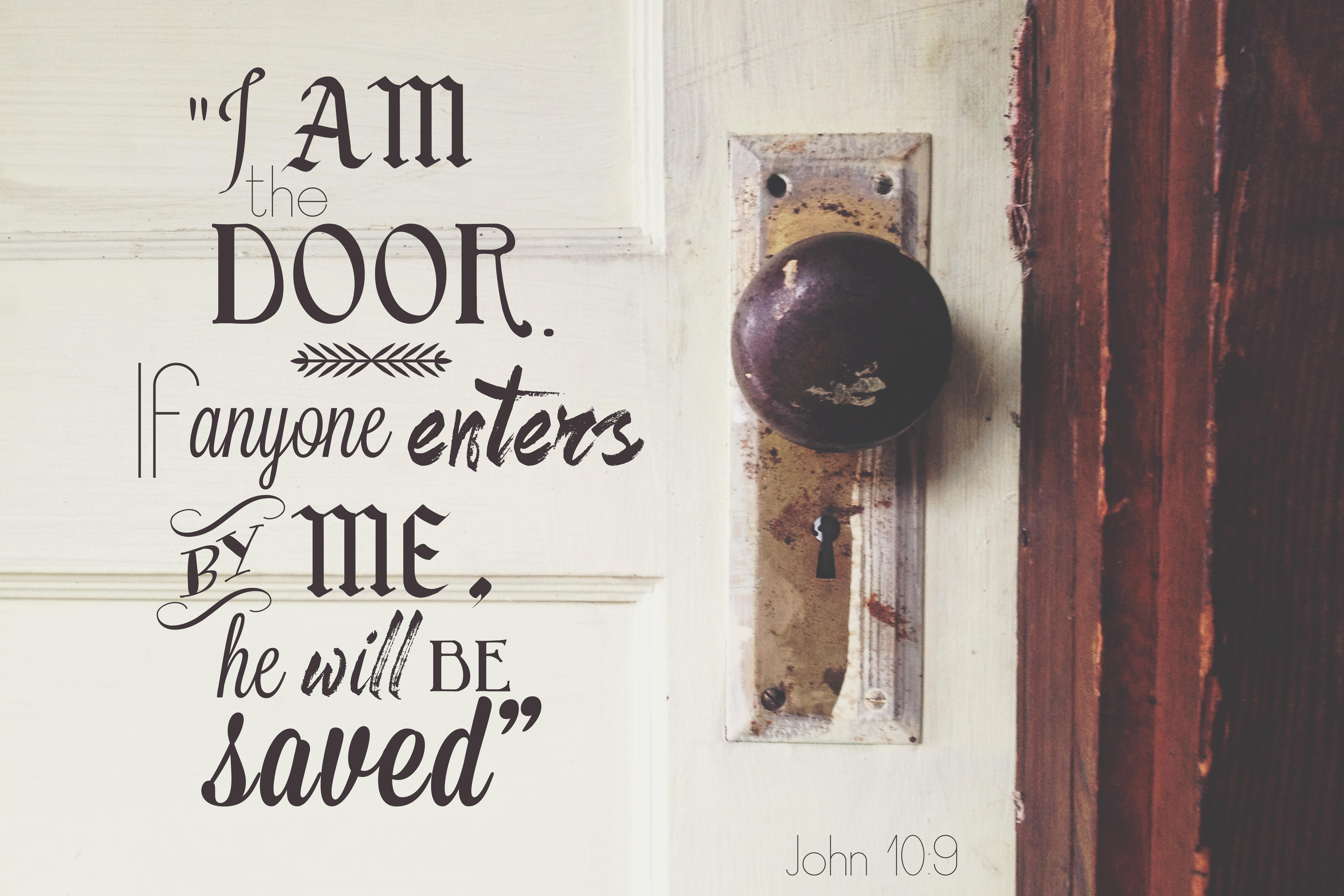 John 10:9 | Rhea Creative