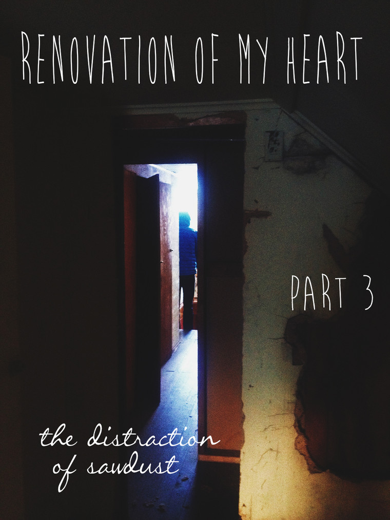 The Renovation of My Heart :: Distractions of Sawdust