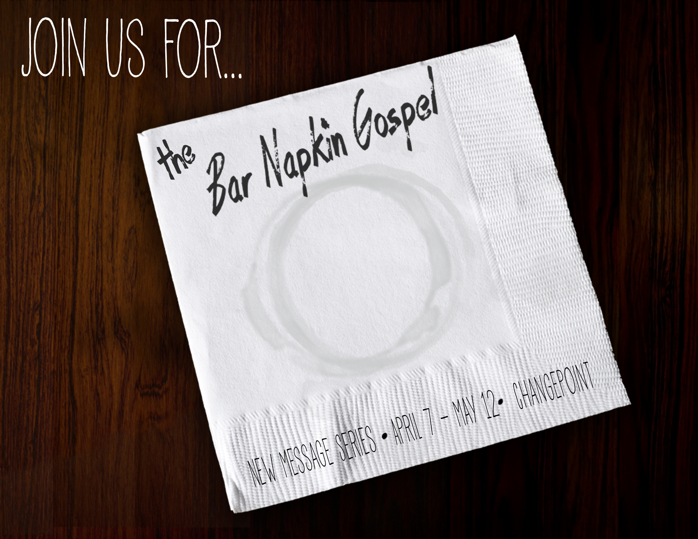 Bar Napkin Gospel | Rhea Creative