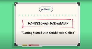 Getting started with Quickbooks online