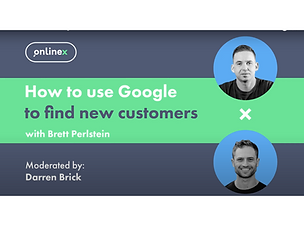 How to use Google to find new customers