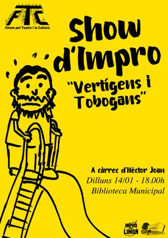 """Show d'Impro """"Vertígens i Tobogans"""""""