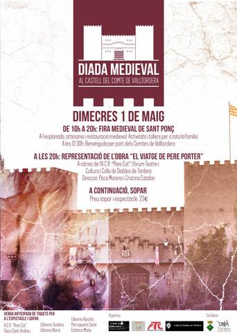 Diada medieval al Castell del Comte de Valltordera