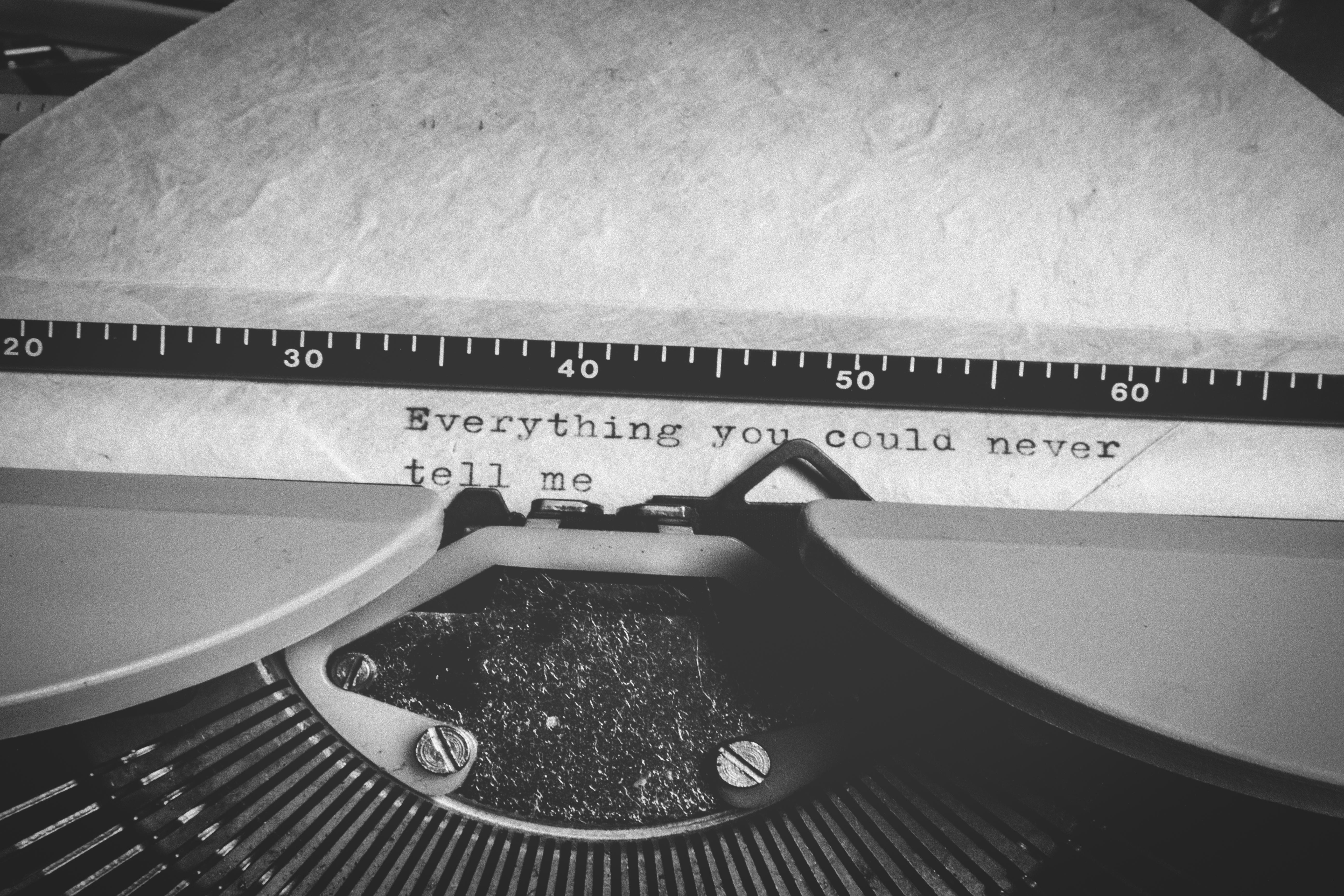 Words on Typewriter