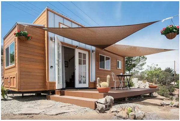 Our Alpine Tiny Home on a Tiny Home Community.