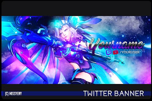 Twitter Banner | Mercy Star Overwatch