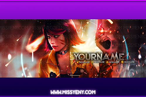 FREE FIRE | TWITCH BANNER