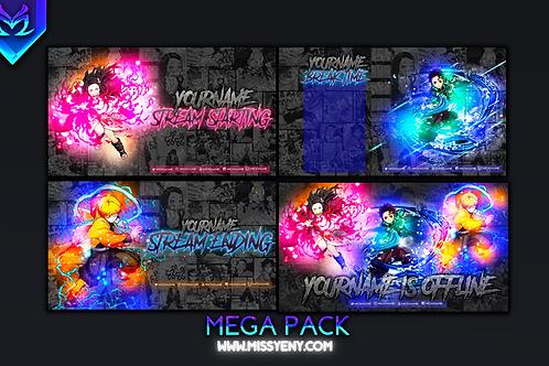 DEMON SLAYER | MEGA PACK!!
