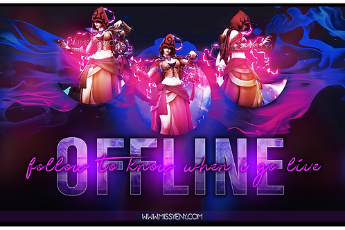 SERIS PALADINS | OFFLINE SCREEN AND PANELS