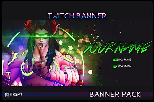 Banner Pack | Genji Illidan Overwatch