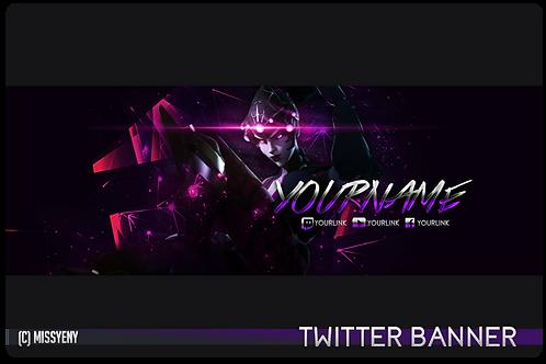Twitter Banner | Widowmaker Overwatch