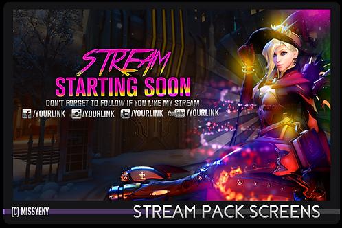 Stream Pack | Overwatch Witch Mercy