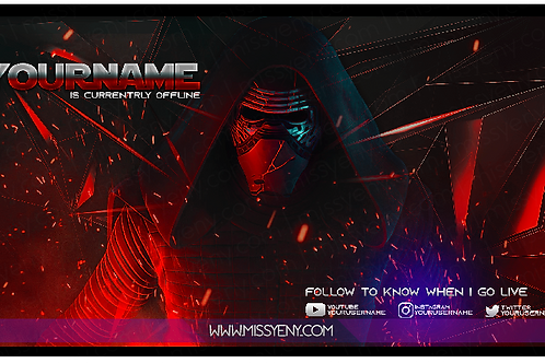 OFFLINE SCREEN | Kylo Ren x Fortnite