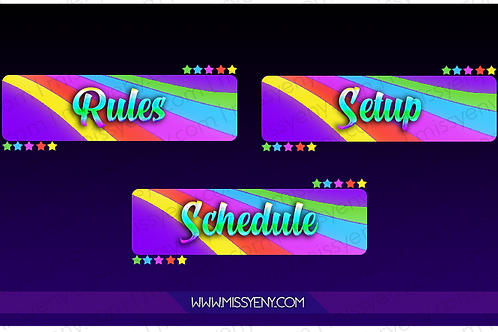 PANELS | RAINBOW VERSION 2.0