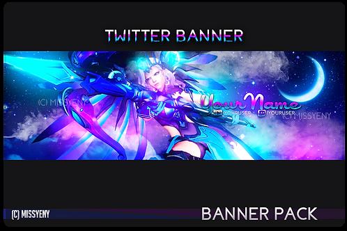 Banner Pack | Mercy Atlantis - Twitter, Twitch Banner