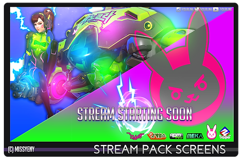 Stream Pack | OVERWATCH DVA NANO