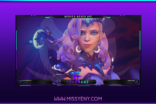 OVERLAY FACE CAM | OVERWATCH MERCY ALL STAR