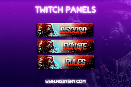 CALL OF DUTY | TWITCH PANELS