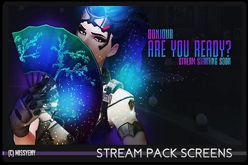 Stream Pack | Widowmaker Overwatch - Screens