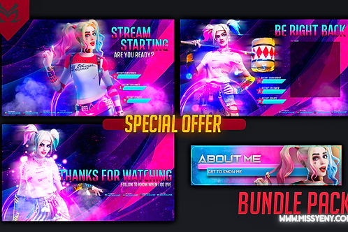 BUNDLE PACK | HARLEY QUINN FORTNITE