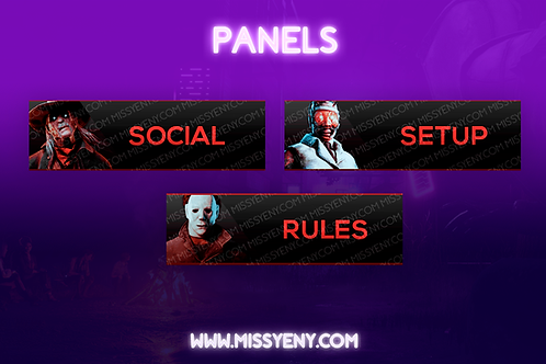 THE KILLERS DEAD BY DAYLIGHT | TWITCH PANELS