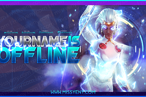 OFFLINE SCREEN | STORM FORTNITE