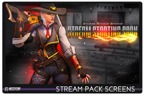 Stream Pack | Overwatch Ashe