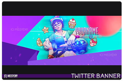 Banner Pack | Mei Honeydew Overwatch