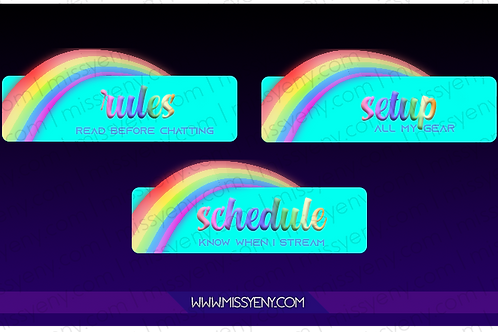 PANELS | RAINBOW VERSION 1.0