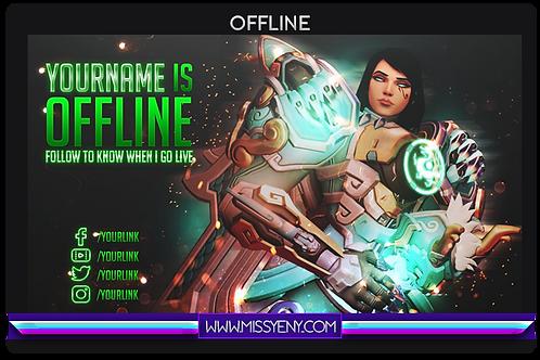 Offline Screen Stream | Pharah Overwatch