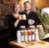 Monticello Tea & Spice Company Susan & Bobby Thompson