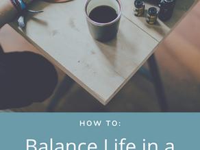 Balancing life in a Social Media World