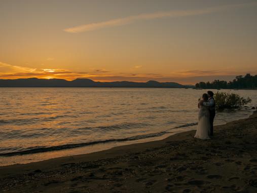 Adirondack Mountain Lakefront Wedding on the Great Sacandaga