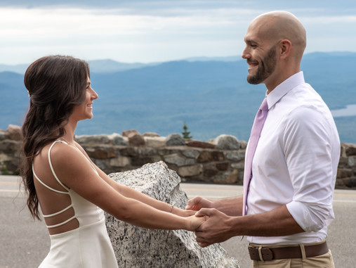 Whiteface Mountain Elopement Wedding
