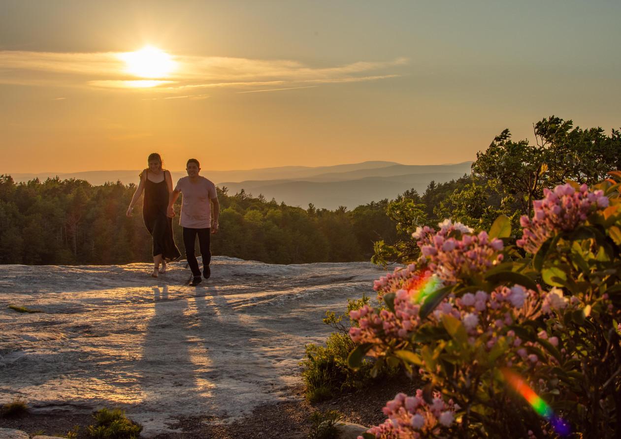 Minnewaska State Park engagement photos