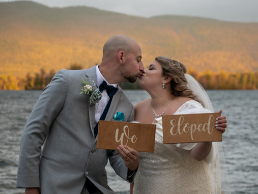 Lake George Adventure Elopement in the Adirondack Mountains