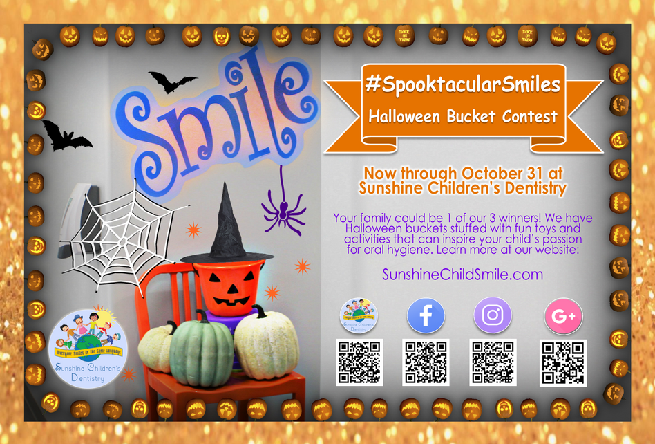 #SpooktacularSmiles Halloween Bucket Contest