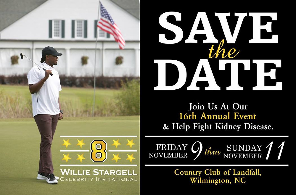 2018 Willie Stargell Foundation invitation