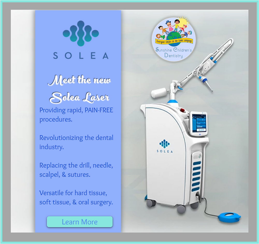 Solea Dental Laser providing pain-free procedures
